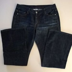 womens levis jeans size 12 m w 31 low flare